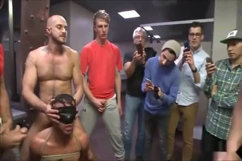 Painfully Homo Male acquires Punished And Filled With Many Differnt Firm cocks In A gang-sex Making