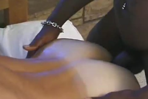 African homo With A taskmaster penis