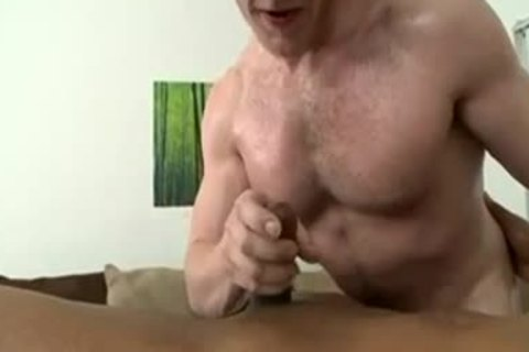 Country lad acquires His cock sucked