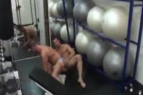 Ross Hurston And His Gym ally