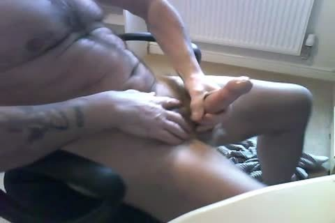 Oiled & jerking off