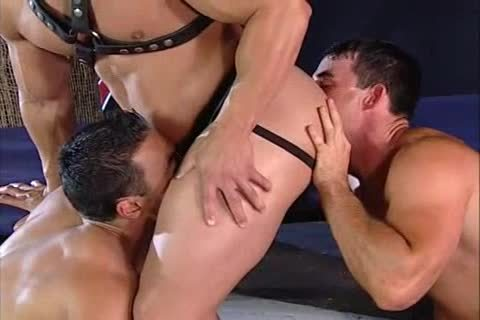 Leather 3some