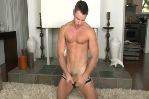 Nick Sterling Tugging penis