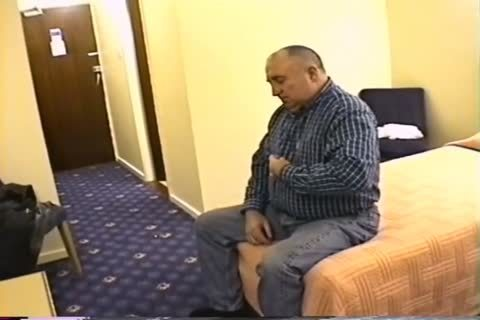older man  jack off In Hotel Room