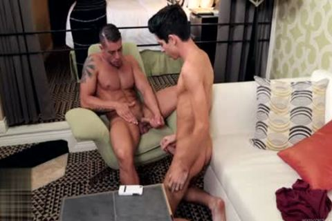 giant dick homo irrumation With sex cream flow