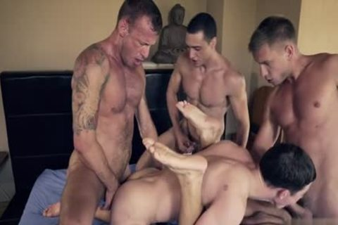 filthy homo DP With ejaculation