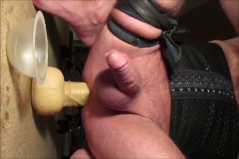Crossdresser Balls unfathomable 13 Inch enormous fake penis Prostate Milking