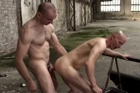 Two homosexual men Who Love It Hard In The pooper