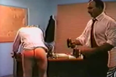 Spank In Office