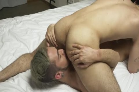 Two handsome guys Make Love