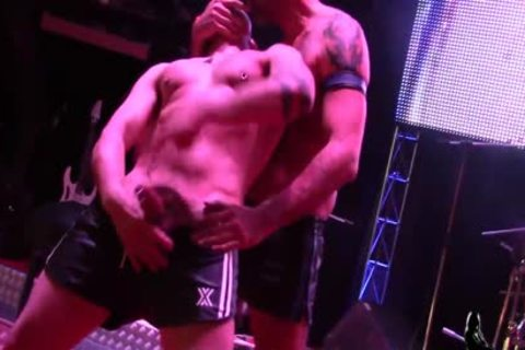 Turbo Leon & Manu Perronash Public homo pound At SEM 2016