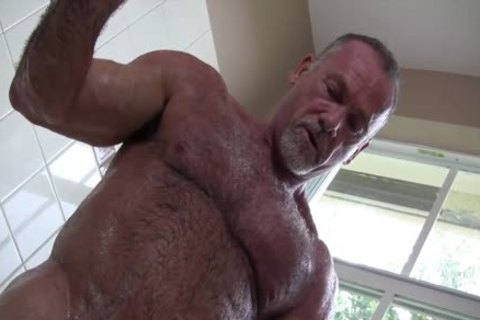 Gentleman Daddy In The bathroom Solo