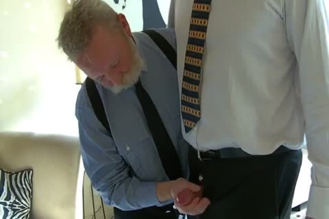 old Business males suck cock And bang