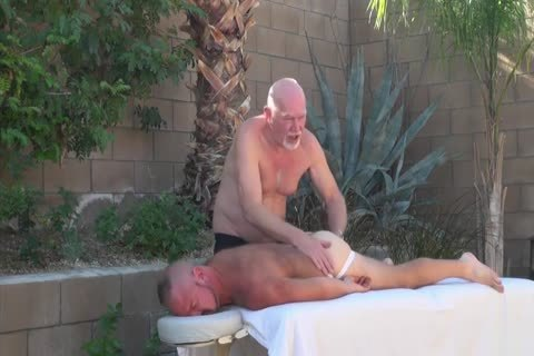 Backyard painfully Two Daddies On guy
