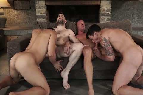 Two Daddies plow Younger pair bareback