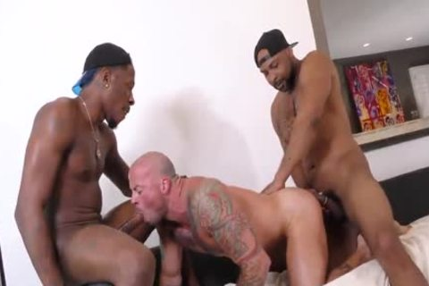 Sean Duran get banged By Ray Diesel And deep Dicc