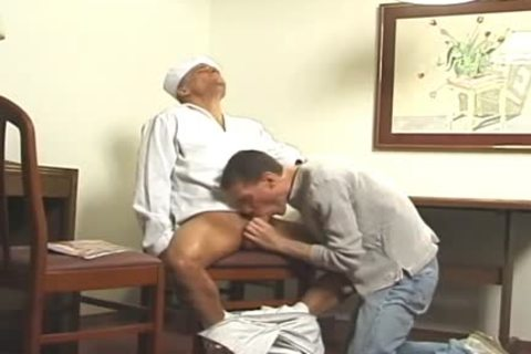 Buff Sailor fucks A Skinny twink doggystyle