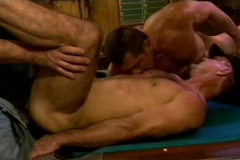 Muscly stud's arsehole receives A worthwhile Stretching