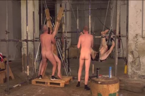 Sub twinks Alex Faux And Avery Monroe bdsm slammed By Masters