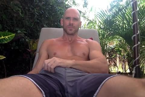 Johnny Sins wanking His humongous lusty 10-Pounder