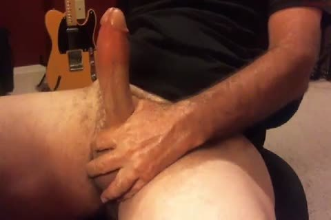 thick Moaning daddy man discharges his sex cream