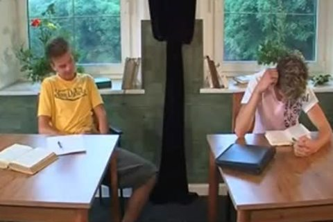 BB Sex In A Classroom And Facialcum