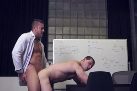 delicious gay Sex After meeting At The Office